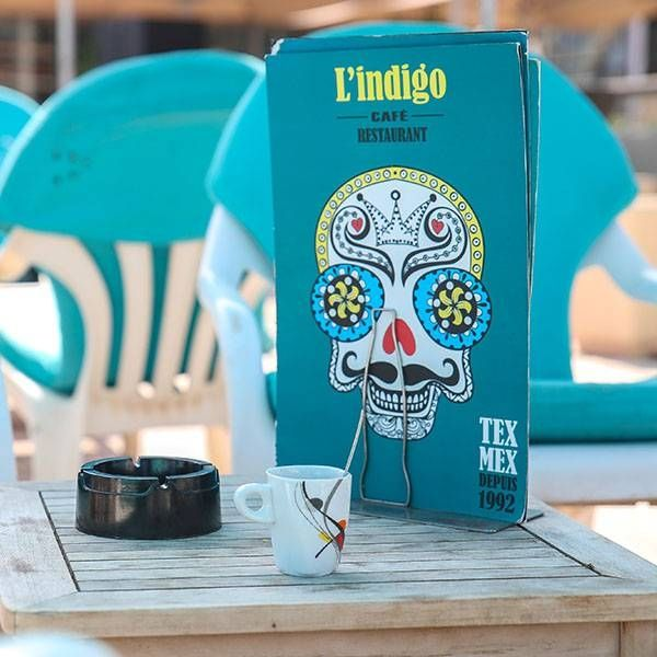 Plage - Indigo Café - Restaurant Mexicain Marseille